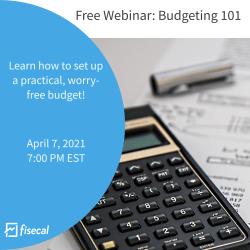Budgeting 101 on April 7